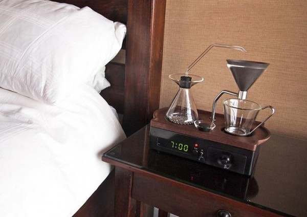 Innovative Alarm Clock Wakes Users with Freshly Brewed Coffee photo