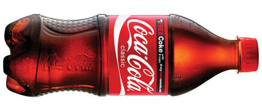 The crazy things that happen when you dump salt into a bottle of Coke photo