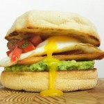 Huevos Rancheros Breakfast Sandwich photo