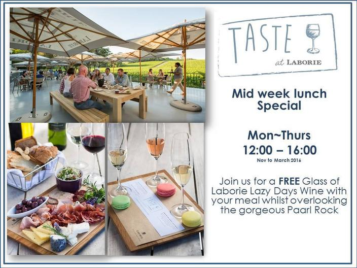 Lunch Specials with Laborie in the Cape Winelands photo