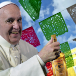 Pope Francis wonders if Mexicans will greet him with tequila photo