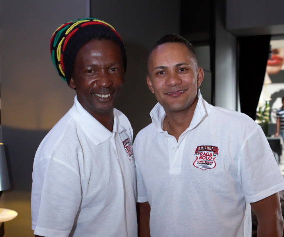 Local football legends announced as Kings for Smirnoff Raga Bolo photo
