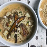 Veggie Couscous in Coconut Miso Broth photo