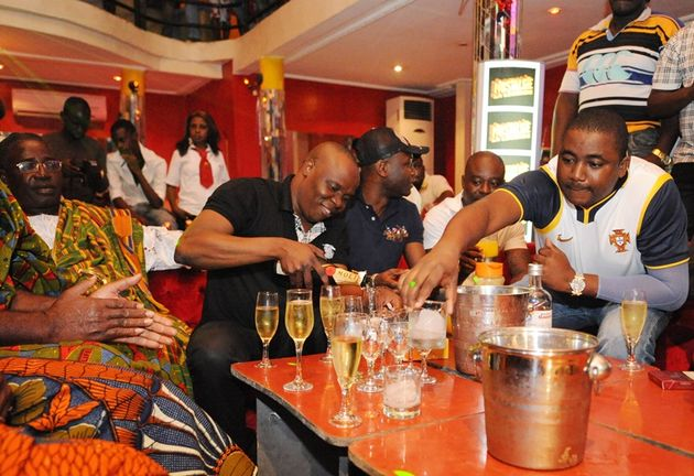 Champagne sales soar in West Africa photo