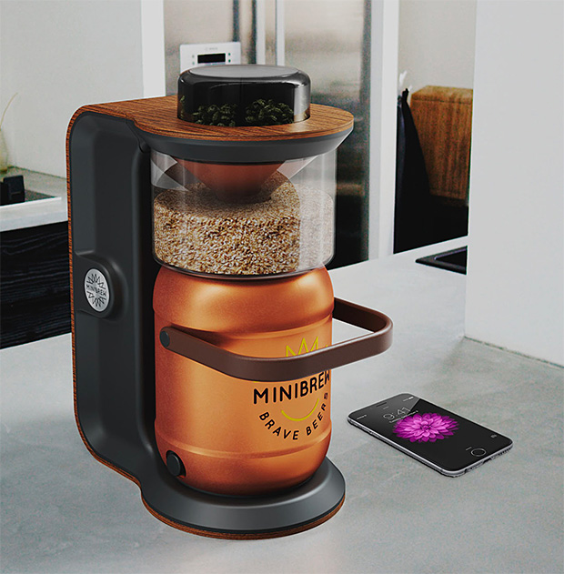 MiniBrew Makes It Super Easy To Make Beer At Home photo