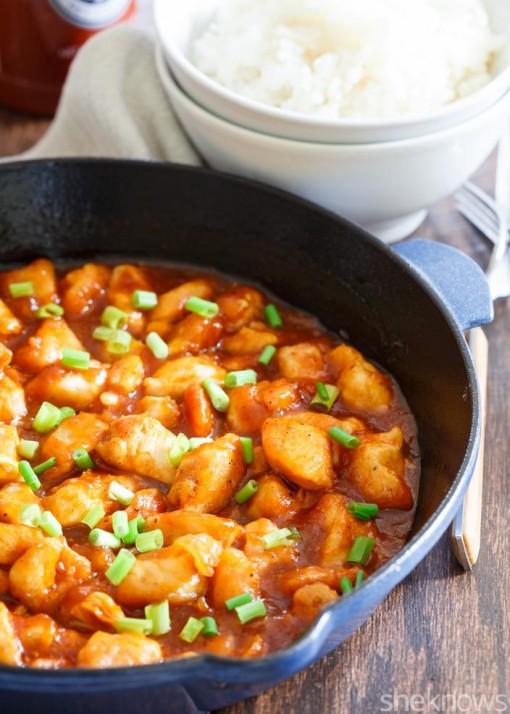 One-pot Honey-Sriracha chicken skillet dinner in 25 minutes photo