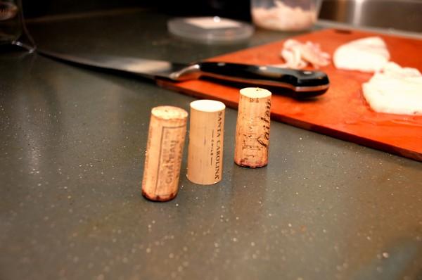 Wine corks ensure more tender octopus photo
