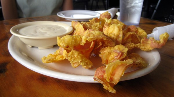 Beer Battered Deep Fried Bacon photo