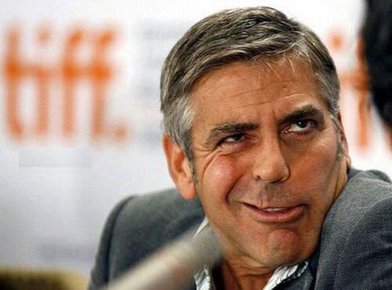When a drunk George Clooney decided to audition for 'Dracula' photo