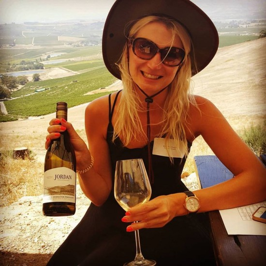 Jordan Wines 2016 harvest tasting with a view! photo