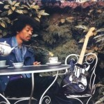 Jimi Hendrix liked nothing better than to sit at home drinking tea photo