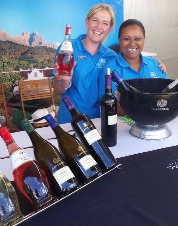 Lanzerac at the Stellenbosch Wine Festival photo