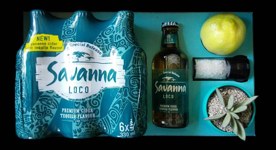 Tequila Flavoured Savanna Cider #SavannaLoco photo