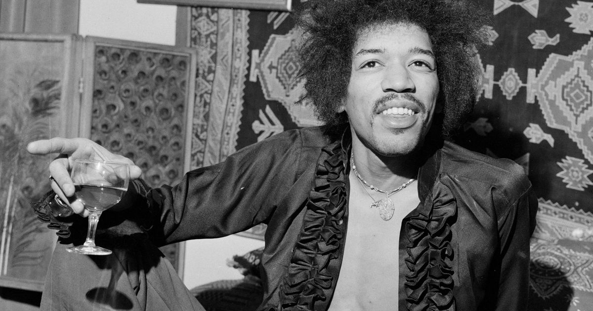 Jimi Hendrix's brother being sued for selling Purple Haze vodka drink photo