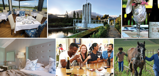 Serving wine tourism as a slice of SA travel photo