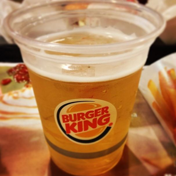 Burger King becomes first fast food chain to sell alcohol in the UK photo