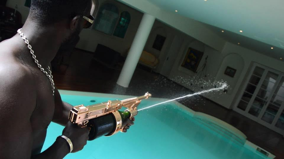Introducing the Champagne Machine Gun photo
