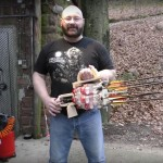 DIY Madman Turns Six Coke Bottles Into a Homemade Gatling Gun photo