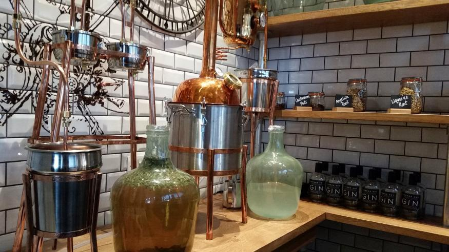 Gatwick Gets The World's First Airport Gin Distillery photo