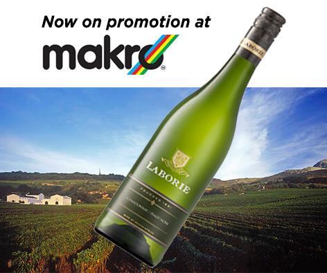 Laborie Chardonnay Pinot Noir Blend on promotion at Makro photo