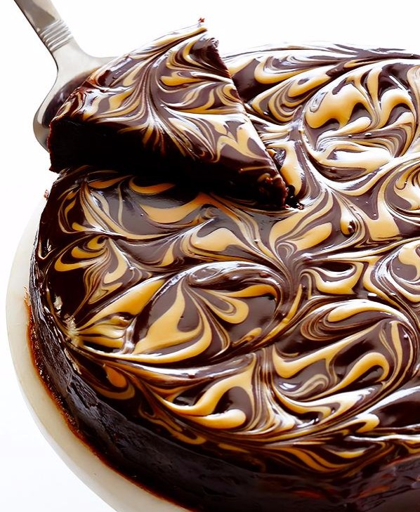 Peanut Butter Flourless Chocolate Cake photo