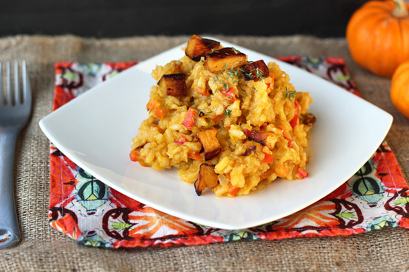 Creamy Slowcooker Pumpkin Risotto photo