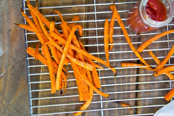 This is how you turn carrots into french fries photo