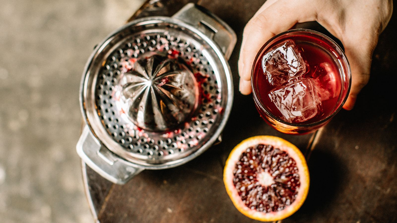 Make a Japanese-Inspired Grapefruit Cocktail in Two Steps photo