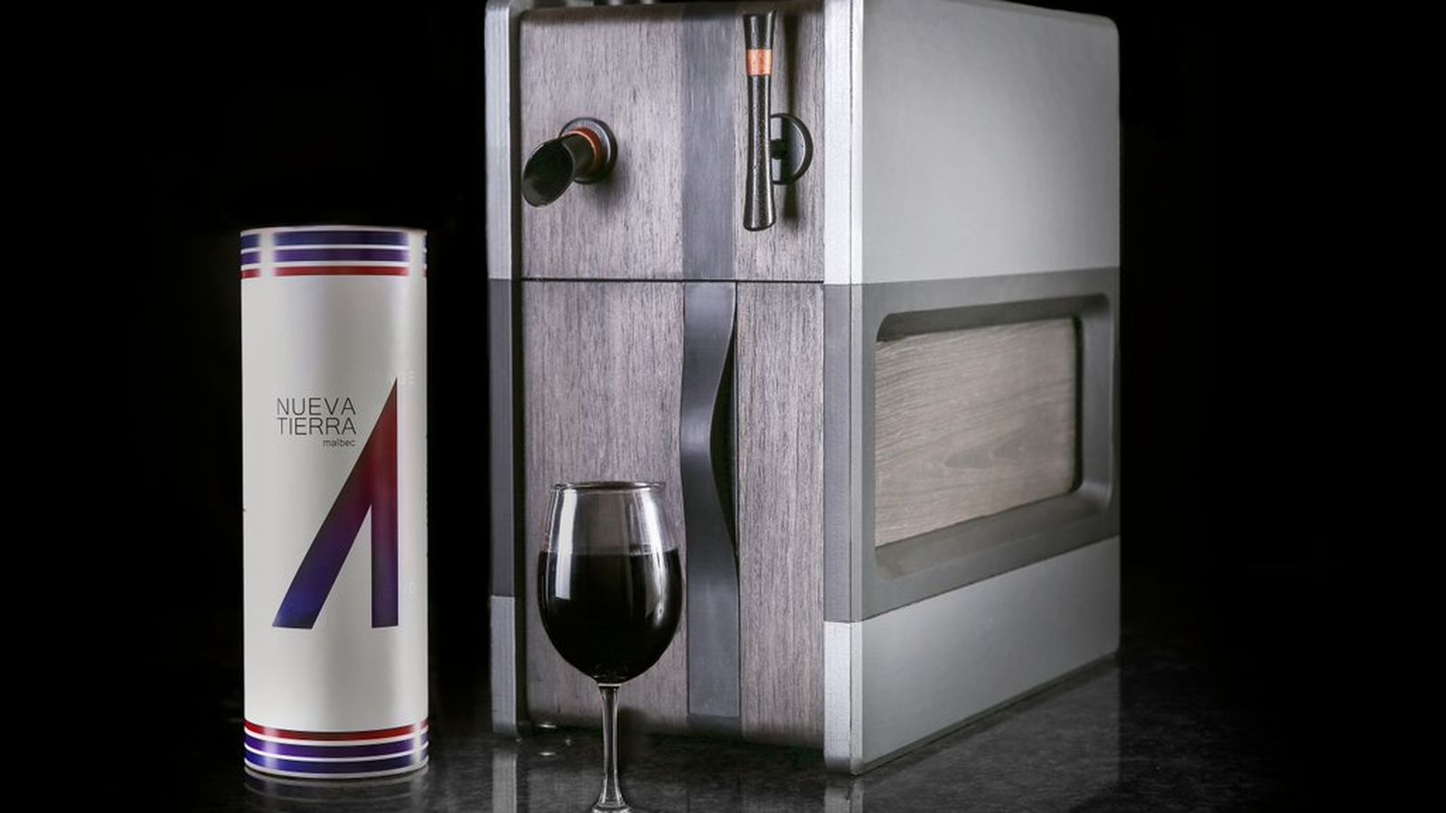 Wine Dispenser Kickstarter Raises $100,000 in Just 15 Hours photo