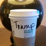 Starbucks Barista Refuses to Call Out Trump Name on Coffee Cup photo