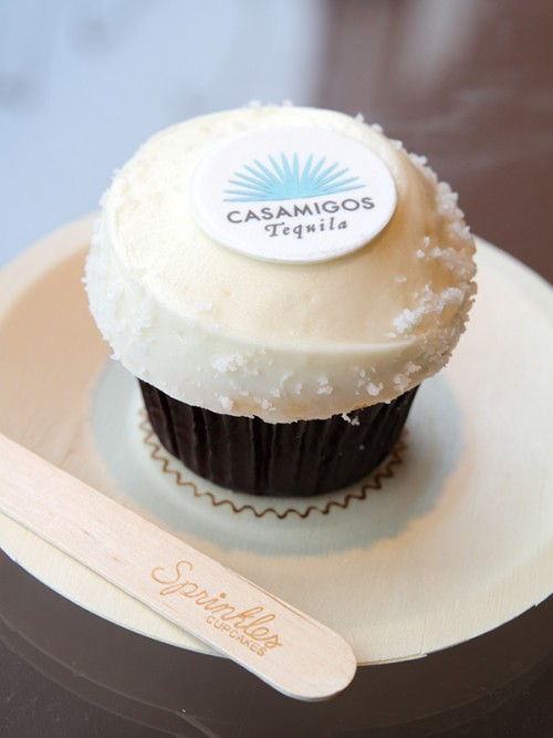 George Clooney's Tequila Brand Has Gifted the World with Margarita Cupcakes photo