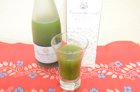 Does Japan's green tea and white wine taste like tea, wine, or something else entirely? photo