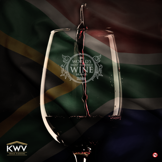 KWV Wines Ranked Highest SA Brand in World's Most Admired Wine Brands photo