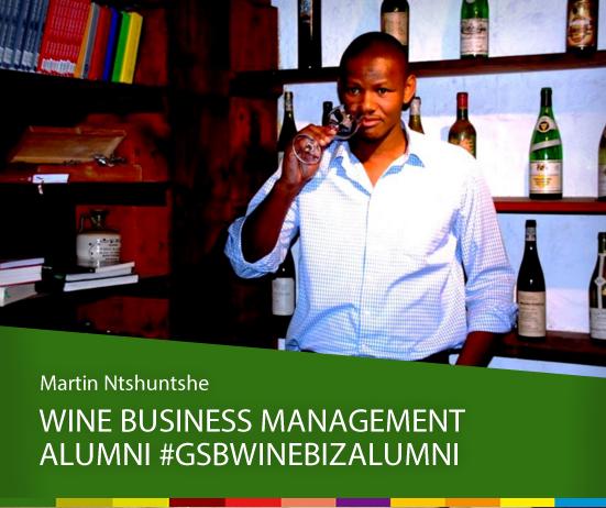 Wine Business Management Alumni: Martin Ntshuntshe photo