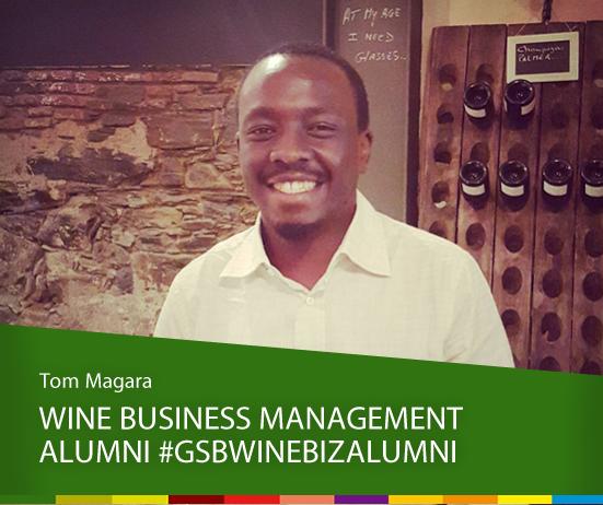 Wine Business Management Alumni: Tom Magara photo