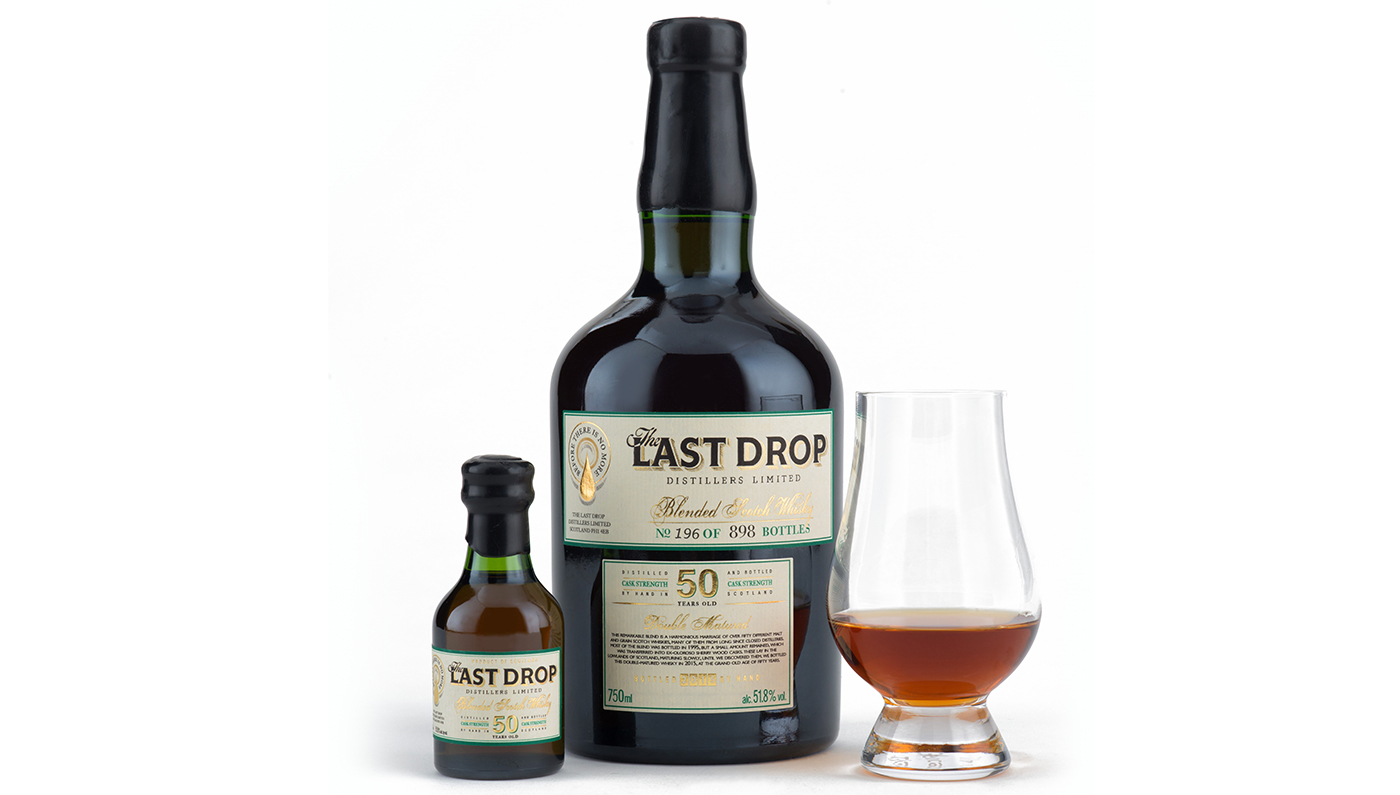 This 50-Year-Old Blended Whisky Sells for $4,500 photo