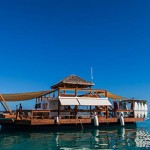Check out this floating bar in Fiji photo