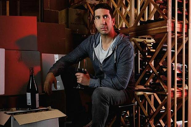 David Schwimmer talks wine and waiting tables photo