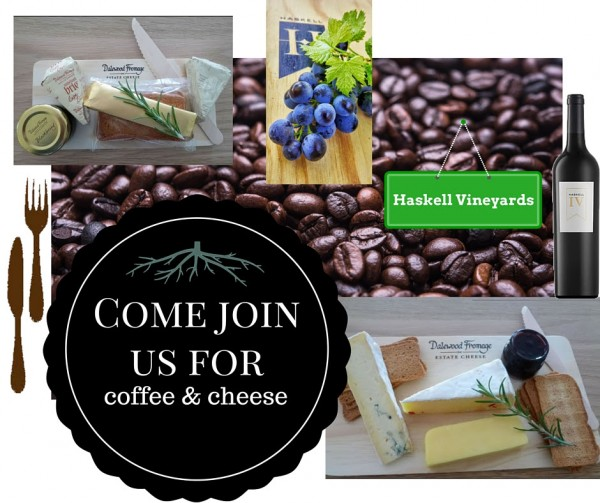 Enjoy quality cheese platters, wine and coffee at Haskell`s tasting room photo