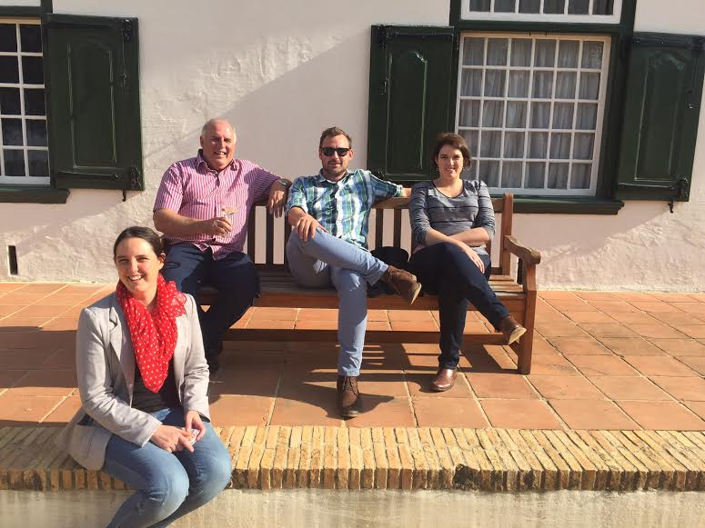 The Nel family of Boplaas hosts a wine-and-wine paring at Groot Constantia photo