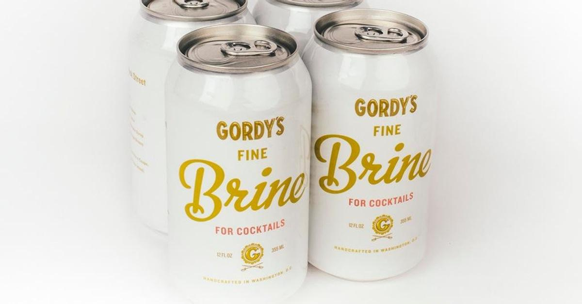 You Can Now Buy Spicy Pickle Brine In A Can photo