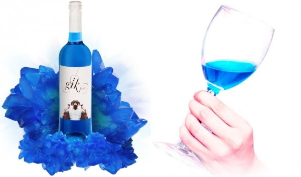 Electric blue wine is coming to a glass near you photo