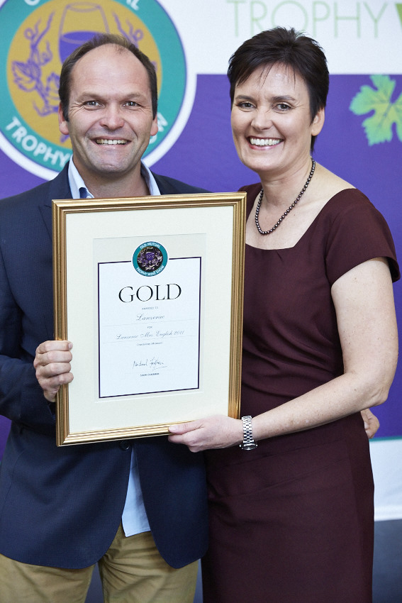 Lanzerac's Mrs English Shines at Old Mutual Trophy Wine Show photo