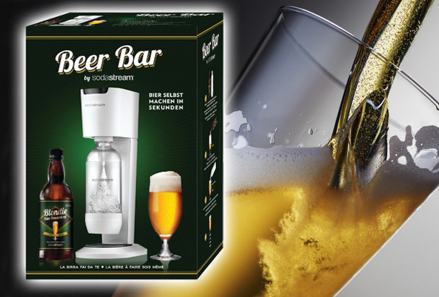 This bar gadget from Sodastream turns water into beer photo