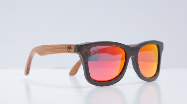 BACARDI Rum Releases Wooden Sunglasses Made From Recycled Oak Barrels photo