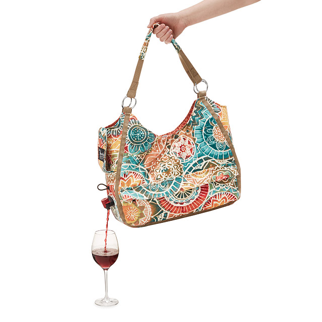 You can now travel with your box wine thanks to this stylish bag photo