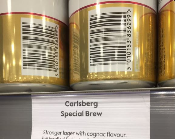 Waitrose provides tasting notes for Special Brew and is mocked relentlessly photo