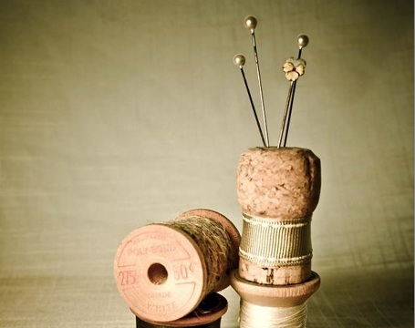 champagne cork pincushion 1 5 household problems solved with wine corks