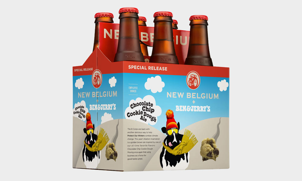 Behold! Chocolate Chip Cookie Dough Ice Cream Beer photo