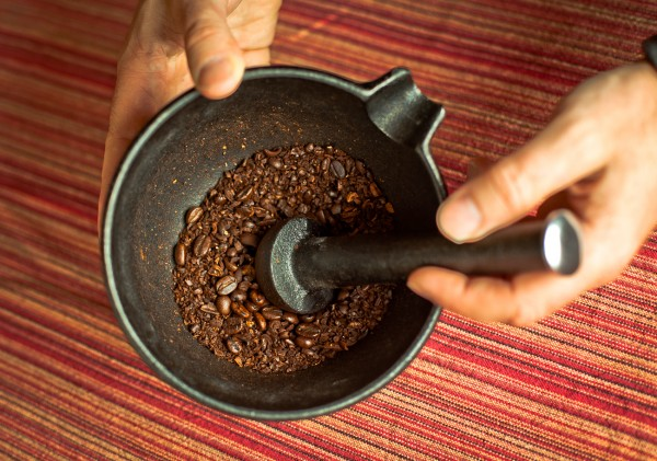 How to Grind Coffee Beans without a Grinder photo